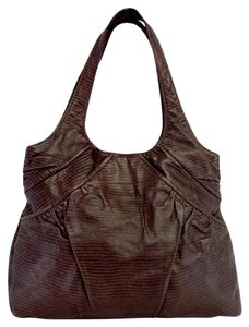 Lauren Merkin Brown Leather Shoulder Tote