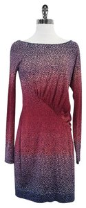 Diane von Furstenberg short dress Pink & Purple Ombre Print on Tradesy