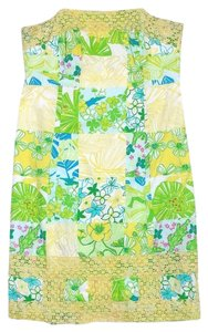 Lilly Pulitzer short dress Multi Color Patchwork Cotton on Tradesy