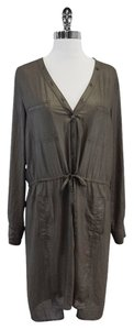 BCBGMAXAZRIA short dress Dusty Olive Long Sleeve Shirt on Tradesy