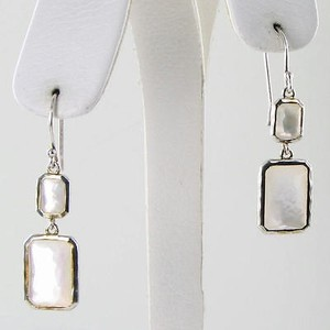 Ippolita Ippolita Earrings Rock Candy Snowman Clear Quartz Mother Of Pearl 925