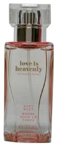Victoria's Secret NWT Victoria's Secret Love is Heavenly Body Mist Spray 2.5 oz Travel Size