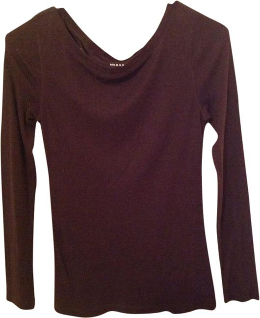 Merona T Shirt Brown