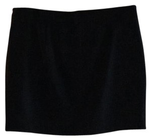 Theory Suiting Black Work Cocktail Mini Skirt