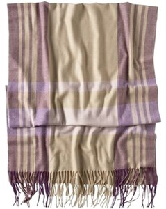 Gap Gap Plaid Blanket scarf - Neutral/Purple