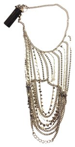 BCBGMAXAZRIA Body Chain Necklace