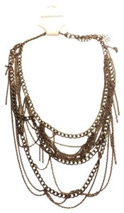 BCBGMAXAZRIA Body Chain Necklace Fringe