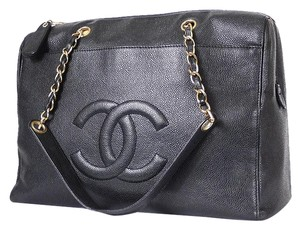 Chanel Jumbo Tote Vintage Shoulder Bag