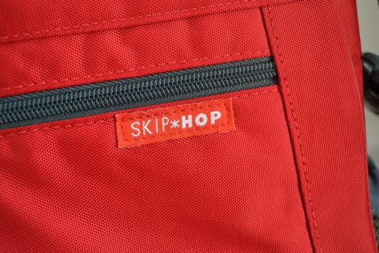 Skip Hop Baby Red Messenger Bag