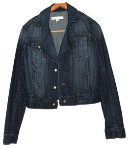 Bullhead Black blue Womens Jean Jacket