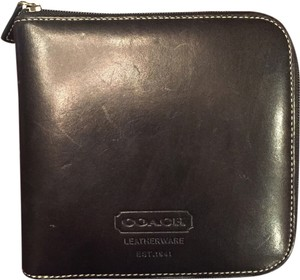 Coach Leather Coach CD/DVD Case