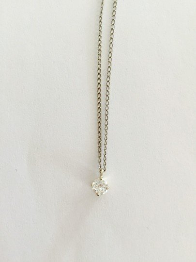 Other Wholesale & Classy .25 Carat Diamond Solitaire Pendant With 14k White Gold Chain
