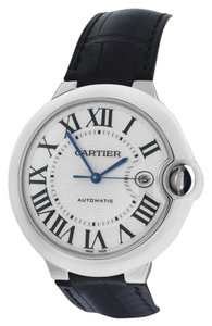 Cartier New Cartier Ballon Bleu XL 42MM W6901351 3000 18K White Gold Automatic Watch