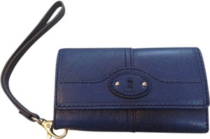 Fossil Leather Fossil Maddox Wristlet