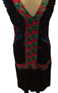 Black and red Maxi Dress by Custo Barcelona