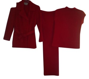 Fashion Bar Code Red Suit