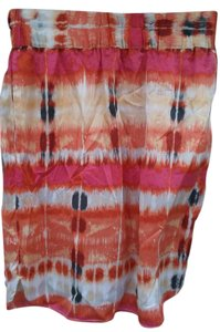 Banana Republic Silk Skirt Multicolor