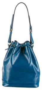 Louis Vuitton Noe Petite Epi Blue Shoulder Bag
