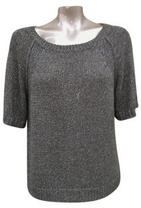 J.Crew Short Sleeve Knit Shimmer Glitter Sweater
