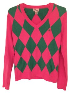 Lilly Pulitzer Pink Green Sweater