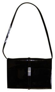 Calvin Klein Patent Leather Elegant Evening Shoulder Bag