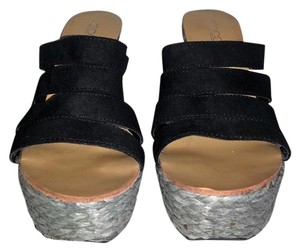 docini black grey Platforms