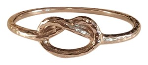 Other Silver plated Hammered infinity Bangle