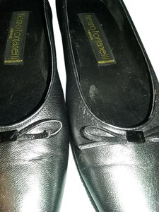 Renzo Fontanelli Charcoal gray Pumps