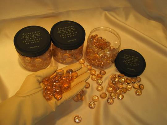 Other Pink Iridescent Glass Gems (3 Jars- 1.25lb each) - [ Roxanne Anjou Closet ]