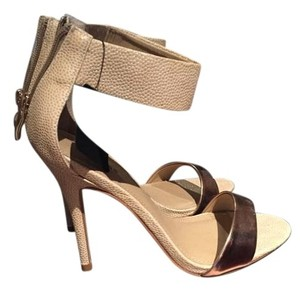 Express Cream/Gold Sandals