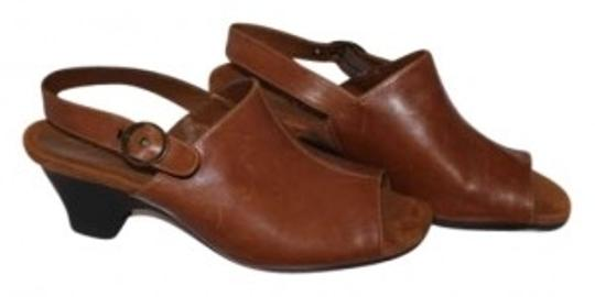 Aerosoles Brown Leather Wedges