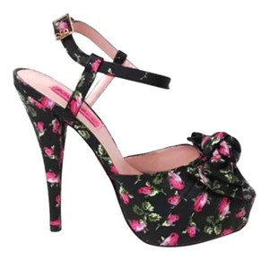 Betsey Johnson Floral Sandals
