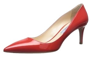 Prada Lacca (Red/Orange) Pumps