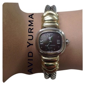 David Yurman Authentic David Yurman Watch Silver And Gold