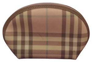 Burberry Burberry Pink Candy Check Cosmetic Bag