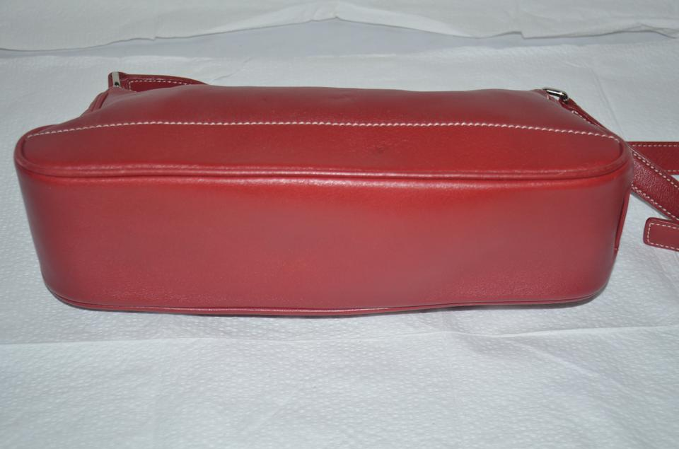 279d56a63 Coach L2s-7587 Red Leather Shoulder Bag - Tradesy