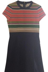 Kate Spade short dress Multi color stripe/Navy on Tradesy