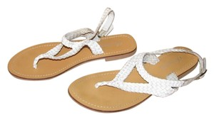 Charles by Charles David White Sandals