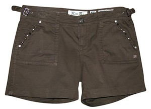 Miss Me Cargo Shorts Brown