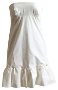 Dsquared2 short dress Off-White on Tradesy