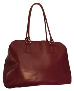 Hobo International Leather Work Tote in Red