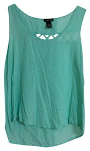 Rue 21 Cutouts Top Turquoise