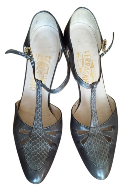 Item - Gray Formal Shoes Size US 7.5 Narrow (Aa, N)