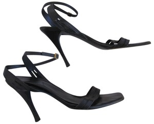 Gucci Guycci Stilettos Black Sandals