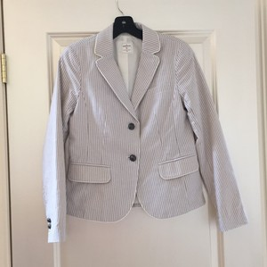 Gap White & Taupe Blazer