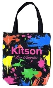 Kitson Sequins Tote in Black