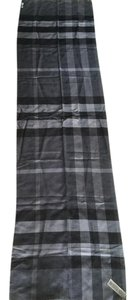 Burberry Brand new Burberry long scarf in classic checker pattern with tag