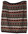 Bailey 44 Mini Stretch Pattern Fall Mini Skirt Red, Brown, Black, Cream, Tan