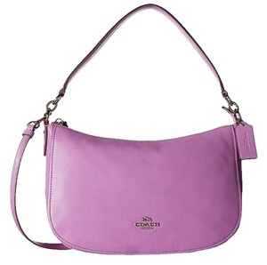 Coach New Leather Cross Body Bag