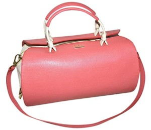 Furla Made In Italy Satchel in Coral
